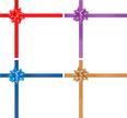 Ribbon,Bow,Vector,Purple,Ch...