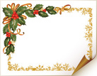 Christmas,Holly,Invitation,...