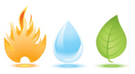 Water,Fire - Natural Phenom...