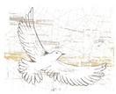 Bird,Flying,Sketch,Grunge,F...