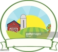 Sun,Agriculture,Label,Barn,...