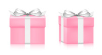 Gift,Box - Container,Pink C...
