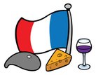 Wine,French Culture,Beret,C...