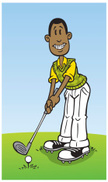 Golf,Cartoon,People,Sport,H...