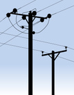 Power Line,Power Cable,Silh...