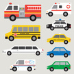 Ambulance,Taxi,Fire Engine,...