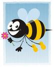 Bee,Insect,Flower,Cute,Sing...