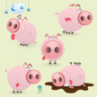 Pig,Cartoon,Animal,Cute,Sma...