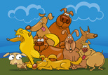 Dog,Group Of Animals,Pets,S...