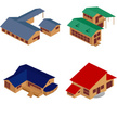 Isometric,House,Icon Set,De...