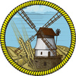 Windmill,Wheat,Old,Agricult...