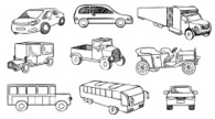 Car,Drawing - Art Product,S...