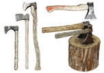 Axe,Axe Head,Objects/Equipm...