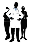Expertise,Protective Mask - Workwear,People,Teamwork,Black Color,Care,Stethoscope,Cut Out,Group Of People,Doctor,Young Adult,Standing,Vector,Color Image,Lab Coat,Silhouette,Surgeon,Men,Blue,Women,Adult,Coat - Garment,Males,Medicine,Occupation,Illustration,Females,Confidence,Uniform,Nurse,General Practitioner,White Color,Healthcare And Medicine,Healthcare Worker,Surgical Mask