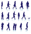 Walking,Silhouette,People,S...