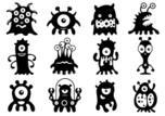 Monster,Alien,Characters,Cu...