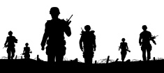 Armed Forces,Silhouette,War...