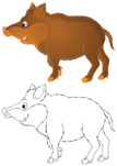 Animal,Clip Art,Cartoon,Ilu...