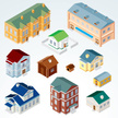 Apartment,Suburb,Built Structure,Icon Set,Residential District,Hotel,Log Cabin,Town,Outdoors,Door,Design Element,Vector,Building Exterior,Rooftop,Icon,Rural Scene,House,Fence,Mansion,Brick,Group Of Objects,Isometric Projection,Three Dimensional,Colors,Window,Illustration,Facade,Cottage,Clip Art,Brick Wall,Log,School Building,Semi-Detached House,Kennel,Shape,No People,Townhouse,Green Color,Small,Exercising