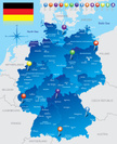 Germany,Map,Cartography,Ber...
