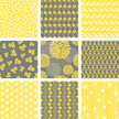 Yellow,Gray,Pattern,Backgro...
