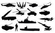 Armed Forces,Military,Silho...