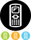 Mobile Phone,Clip Art,On Th...