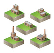 Factory,Isometric,Industry,...