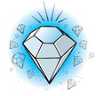 Diamond,Drawing - Art Produ...