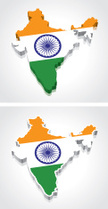 India,Map,Indian Flag,Flag,...