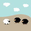 Sheep,Bizarre,Vector,Wool,F...