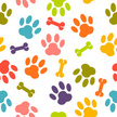 Dog,Paw Print,Paw,Pets,Back...