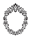 Ellipse,Frame,Flower,Ornate...
