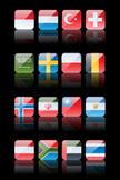 Square,South African Flag,I...