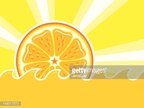 Wave,Sun,Juice,Orange Color...