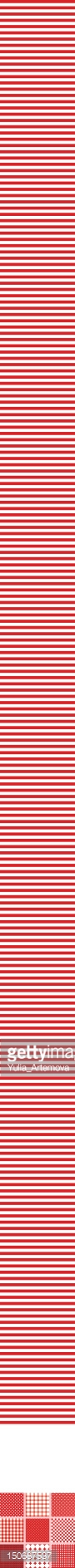 Red,White Color,Pattern,Str...