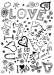 Love,Doodle,Scribble,Heart Shape,I Love You,Single Flower,Flower,Handwriting,Symbol,Cupid,Single Word,Pencil,Painted Image,Design Element,Inspiration,Valentine's Day - Holiday,Holiday,No People,Sketch,Rose - Flower,Fun,Drawing - Art Product,Mail,Pencil Drawing,Holidays And Celebrations,February,Kissing,Single Object,Vector Ornaments,Design,Ideas,Paintings,Illustrations And Vector Art,Ilustration,Valentine's Day