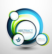 Abstract vector circles background