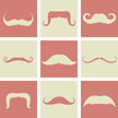 Mustache,Men,Symbol,Backgro...