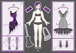 Paper Chain,Paper Doll,Dres...