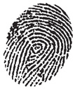 Fingerprint,Vector,Black An...