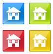 Icon Set,Real Estate,Silhou...