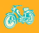 Motorcycle,Color Image,Mope...