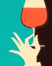 After Work,Wineglass,Color ...
