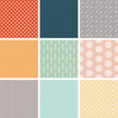 Preppy Seamless Vector Pattern Set
