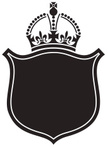 Crown,Shield,Coat Of Arms,T...