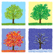 Four Seasons,Tree,Season,Au...