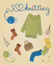 Knitting,Wool,Knitting Need...