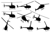Helicopter,Silhouette,Helic...