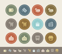 Modern,Symbol,Sale,Icon Set...